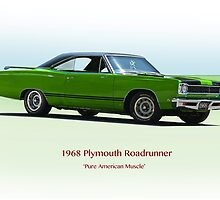 1968 Plymouth 383 Roadrunner by DaveKoontz