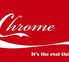 Chrome_It's the real thing by dlhedberg