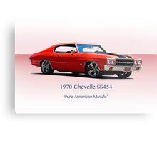 1970 Chevelle Super Sport SS454 Metal Print