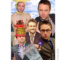 Chris Hardwick collage by MoStormTrooper