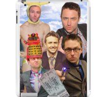 Chris Hardwick collage iPad Case/Skin