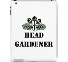 Head Gardener iPad Case/Skin