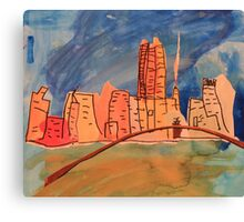 Melbourne City  Canvas Print