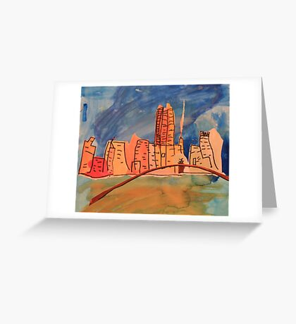 Melbourne City  Greeting Card