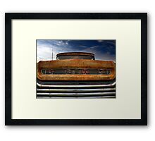 Textured Ford Truck 2 Framed Print