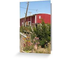 Friends are welcome at The Berry Patch Greeting Card