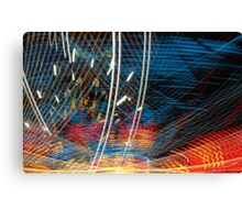 Cosmic - Laser Light Show Canvas Print