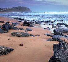 Forresters Beach at Sunset by Leanne Doroszuk