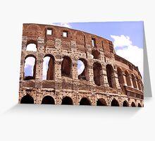 Gladiators Room Greeting Card