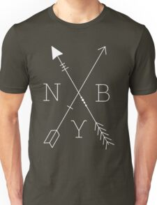 NBY Arrows White Unisex T-Shirt