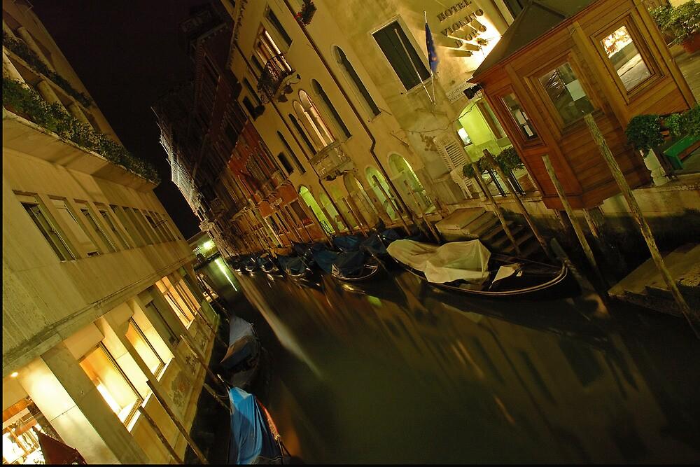 Goodnight Gondola by GeorgeBuxbaum