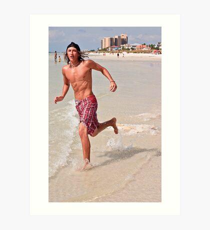 clearwater beach Art Print