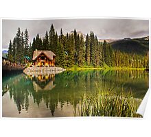 Emerald Lake — Yoho National Park Poster