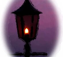 Evening Lamp by Charmiene Maxwell-Batten