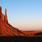 The Mittens - Monument Valley by GeorgeBuxbaum