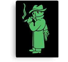 Fallout - Mysterious Stranger Canvas Print