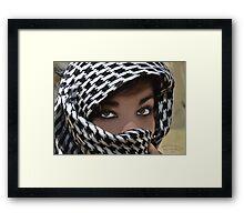 """"""" Desert Princess """" Framed Print"""