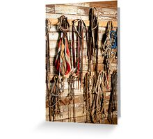 Tack on the Wall Greeting Card