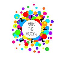 Walk the Moon Bubble Photographic Print