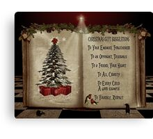 Christmas... Canvas Print