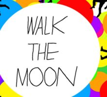 Walk the Moon Bubble Sticker