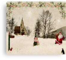 Going Home for Christmas... Canvas Print