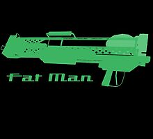 Fallout Weapon - FAT MAN  by HeySteve