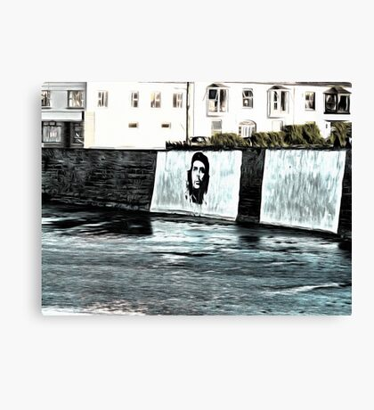 Che Guevara At Kilkee Ireland Canvas Print