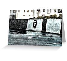 Che Guevara At Kilkee Ireland Greeting Card