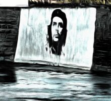 Che Guevara At Kilkee Ireland Sticker