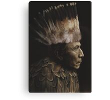 Feathered Chief Canvas Print
