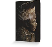 Feathered Chief Greeting Card