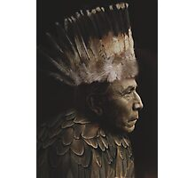 Feathered Chief Photographic Print