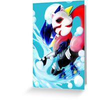 Pokemon Anbu Greninja  Greeting Card