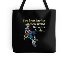 I've Been Having These Weird Thoughts Lately - Kingdom Hearts Tote Bag