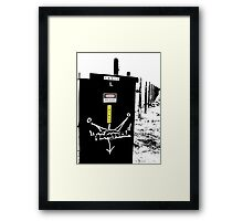 Suburbia Tagin'  Framed Print