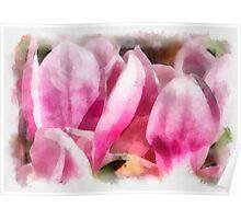 Magnolia Art Poster