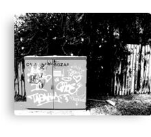 Suburbia Tagin' - No. 2 Canvas Print