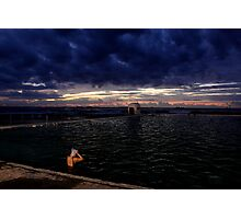 Morning Swim  - Merewhether baths  Photographic Print
