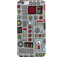 Robot Controls 3000 iPhone Case/Skin