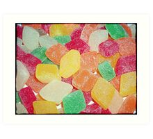 Jelly Sweets >> Art Print