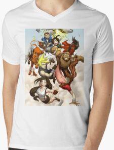 Final Fantasy 7 Mens V-Neck T-Shirt