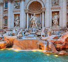 Fontana di Trevi by Inge Johnsson