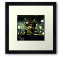 childhood is the most wonderful fairy tale of all Framed Print