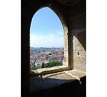 Window view, Lisbon Portugal Photographic Print