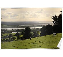 An english country scene. Poster
