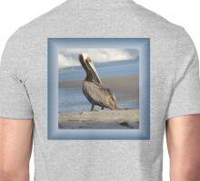 Oceanside Portrait of a Pelican Unisex T-Shirt