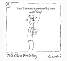 Talk Like a Pirate Day by Scapetti