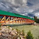 Bridge in Golden by zumi