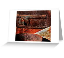 Corrosion Greeting Card
